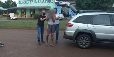 Principal suspeito de matar criança em Rolim de Moura está sendo ouvido na UNISP