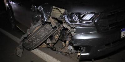 Grave acidente é registrado na BR-364 em Cacoal