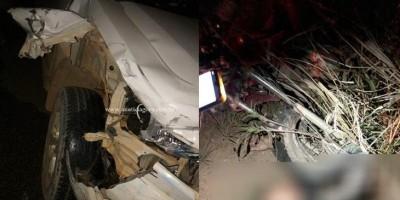 Morador de Jaru morre em acidente entre moto e Ranger em Theobroma