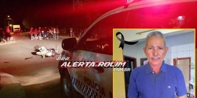 Morre em Cacoal idoso que sofreu acidente no bairro Cidade Alta em Rolim de Moura