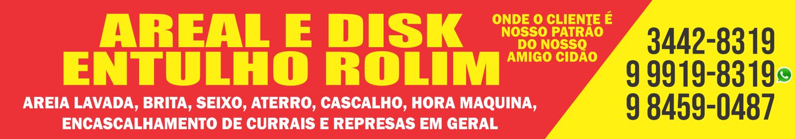 AREAL E ENTULHOS ROLIM