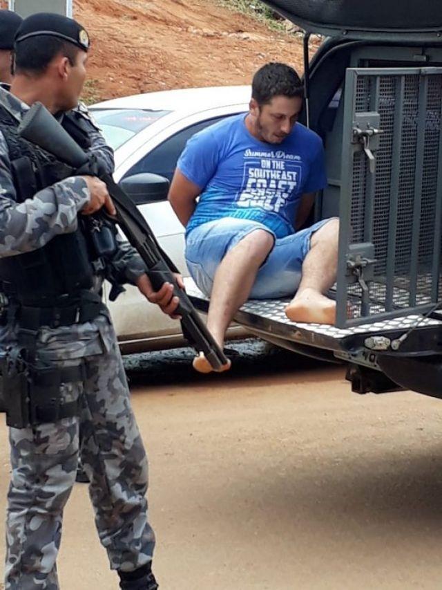 Jaru: Perigoso homicida foragido da justiça é capturado pela Policia Civil após 40 km de perseguição