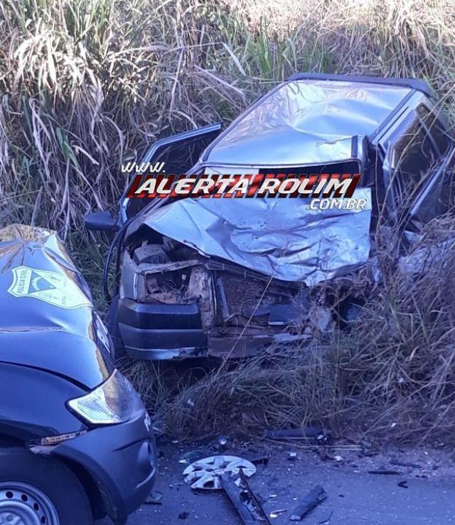 Migrantinópolis: Grave acidente de trânsito envolvendo carro de passeio e viatura da Polícia Civil resulta em uma morte