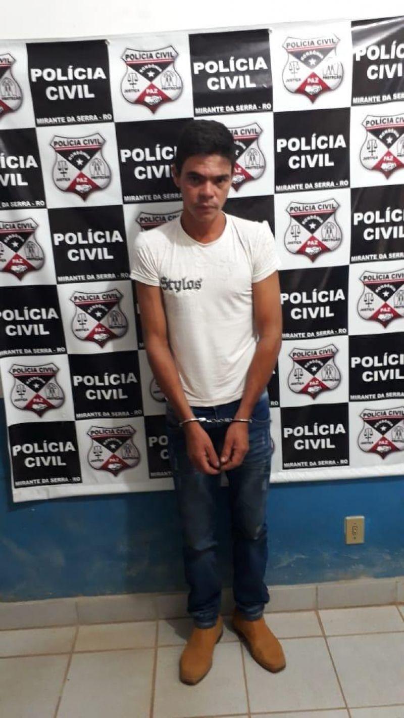Mirante da Serra - Polícia Civil prende autor de homicídio que ocorreu em 2016