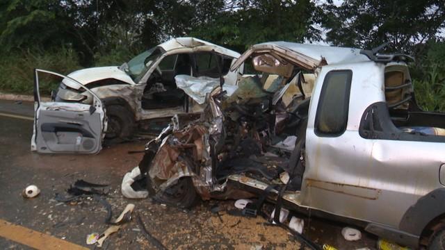 Quatro acidentes deixam 7 mortos na BR-364 em RO; 2 acontecem em menos de 1h