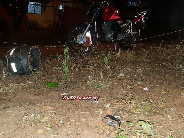 Rolim de Moura – Após sair de festa, homem é morto a tiros por dupla em motocicleta