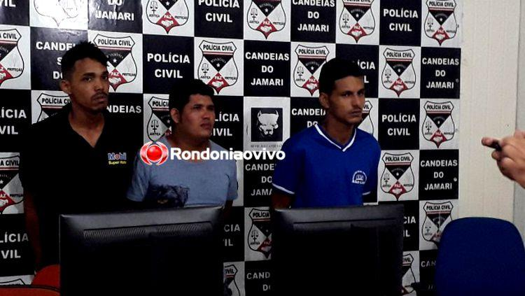 """""""CAÇADA"""": Polícia Civil prende assaltantes com quatro armas após perseguição na BR-364"""