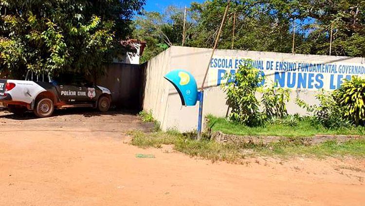 DEPREDAÇÃO: Escola pública é invadida e destruída por vândalos ao lado da PRF