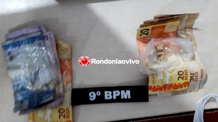PEDRA DE CRACK: Trio é preso por tráfico em residência conhecida pela venda e consumo