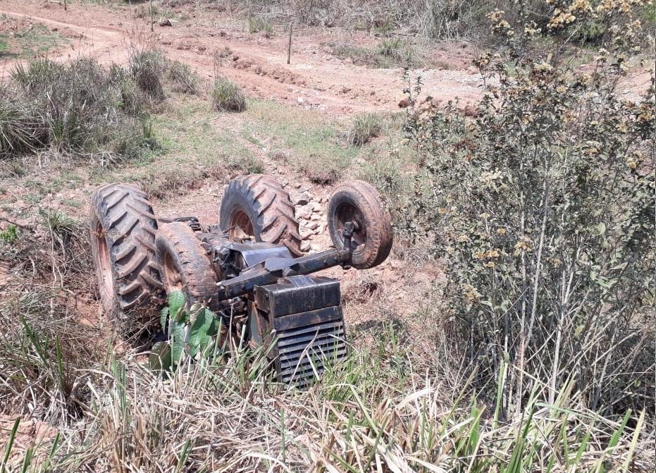 Em Rondônia homem morre esmagado por trator agrícola