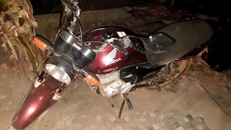 EM PORTO VELHO: Polícia descobre esconderijo de várias motocicletas roubadas