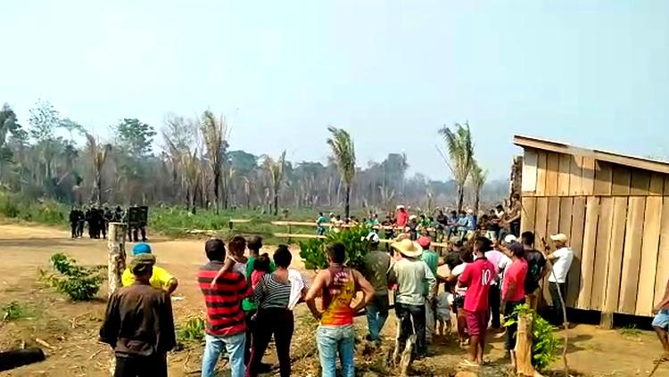 OPERAÇÃO: Ação de militares na Floresta Nacional do Bom Futuro revolta agricultores