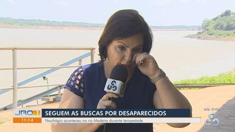 Bombeiros encerram buscas por 3 desaparecidos após naufrágio no rio Madeira, em RO