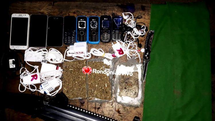 Criminosos mais uma vez jogam droga e celulares para dentro de presídio
