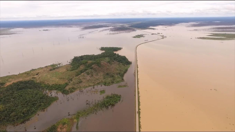 Rio Madeira ultrapassa 14 metros e entra em cota de atenção em Porto Velho