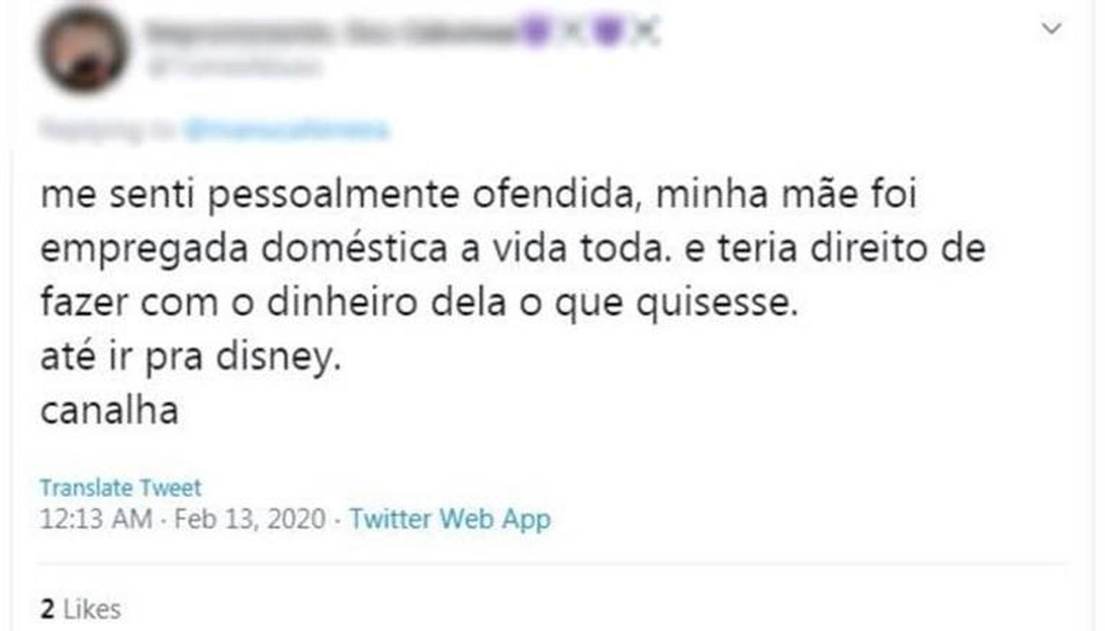 Fala de Guedes gera revolta ao dizer que até empregadas domésticas iam para Disney: