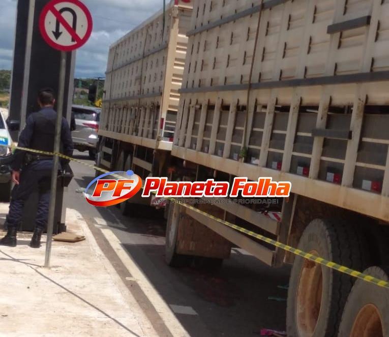 Mulher que morreu atropelada em Ji-Paraná pedia dinheiro aos motoristas na via