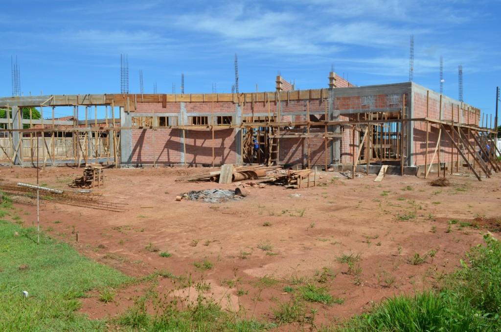 Obra da nova Prefeitura de Rolim de Moura segue em ritmo acelerado