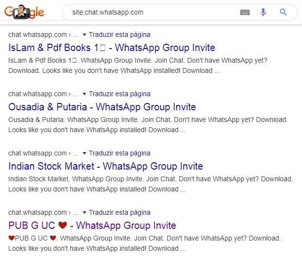Vazamento em massa do WhatsApp expõe mais de 470 mil grupos no Google; entenda