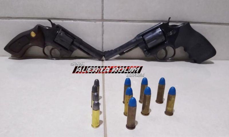 Duas armas de fogo são apreendidas durante operação na RO-490