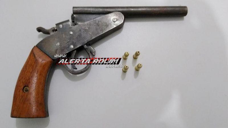 Três armas de fogo são apreendidas durante operação Paz no Campo