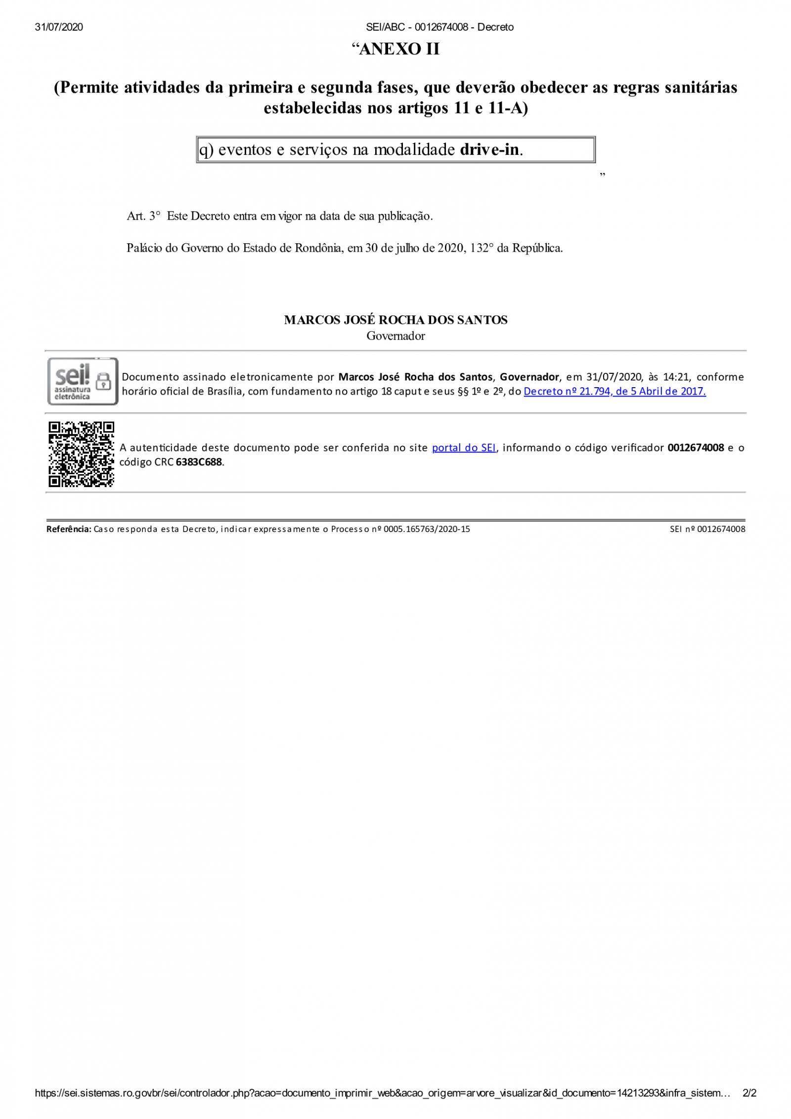 Governo de RO decide que aulas presenciais estão suspensas até 1º de setembro