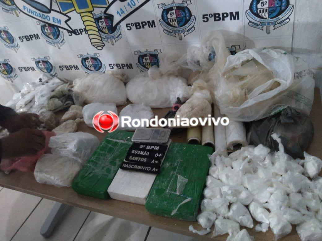 Traficante que guardava droga em galinheiro é preso escondido embaixo de cama em Porto Velho