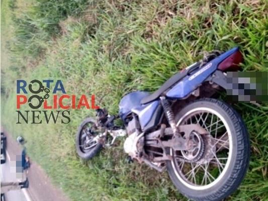Motociclista morre após atingir traseira de carreta na BR-364, próximo a Vilhena