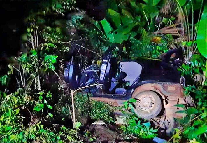 Grave acidente na BR-364 deixa 2 mortos e 5 feridos em distrito de Porto Velho