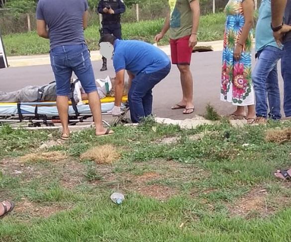 Acidente entre motos em Monte Negro deixa um morto e outro ferido
